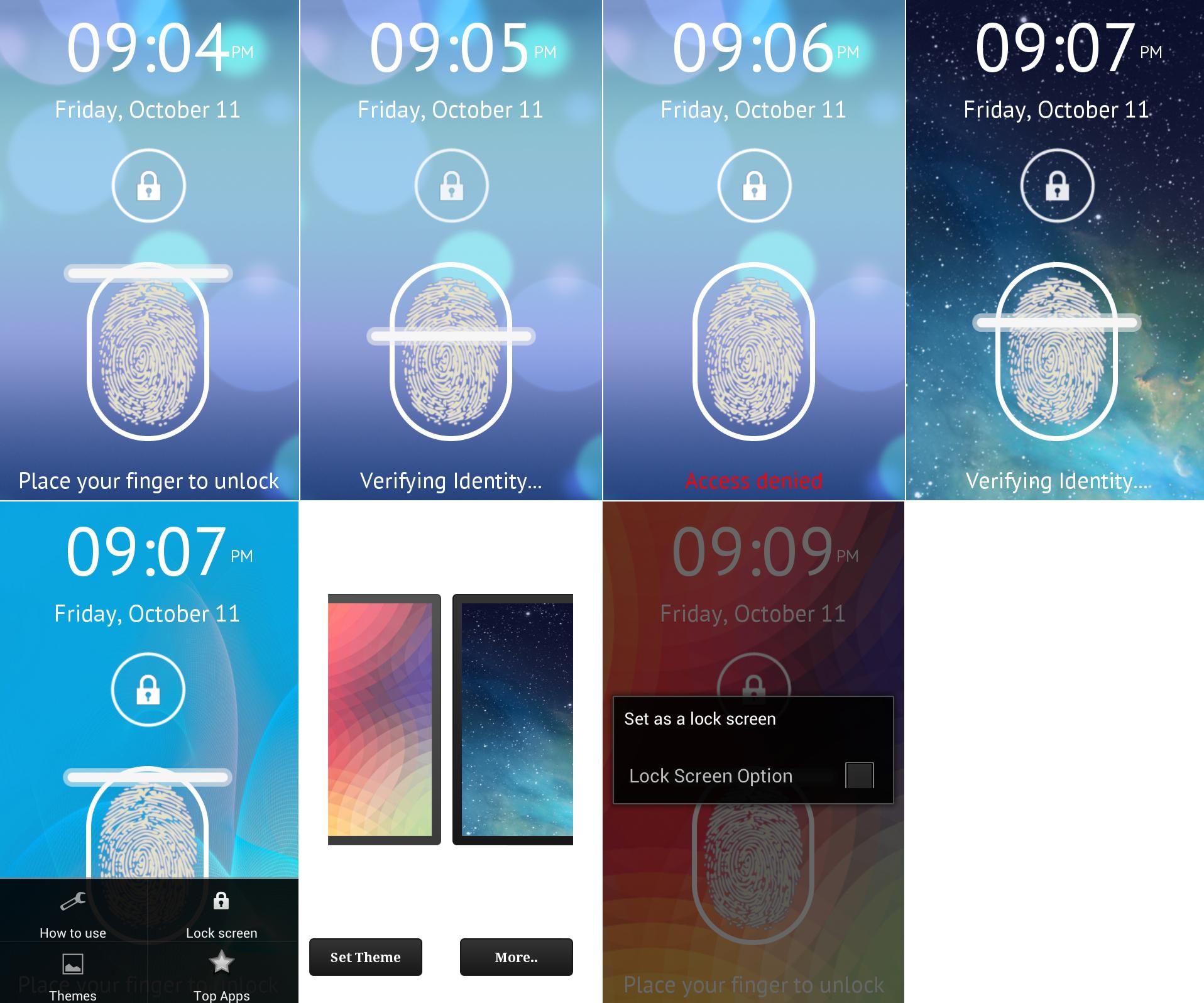 Fingerprint-Scanner for Android