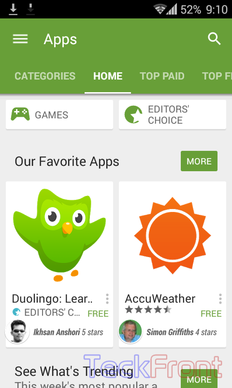 Google-Play-Store-with-Material-Design