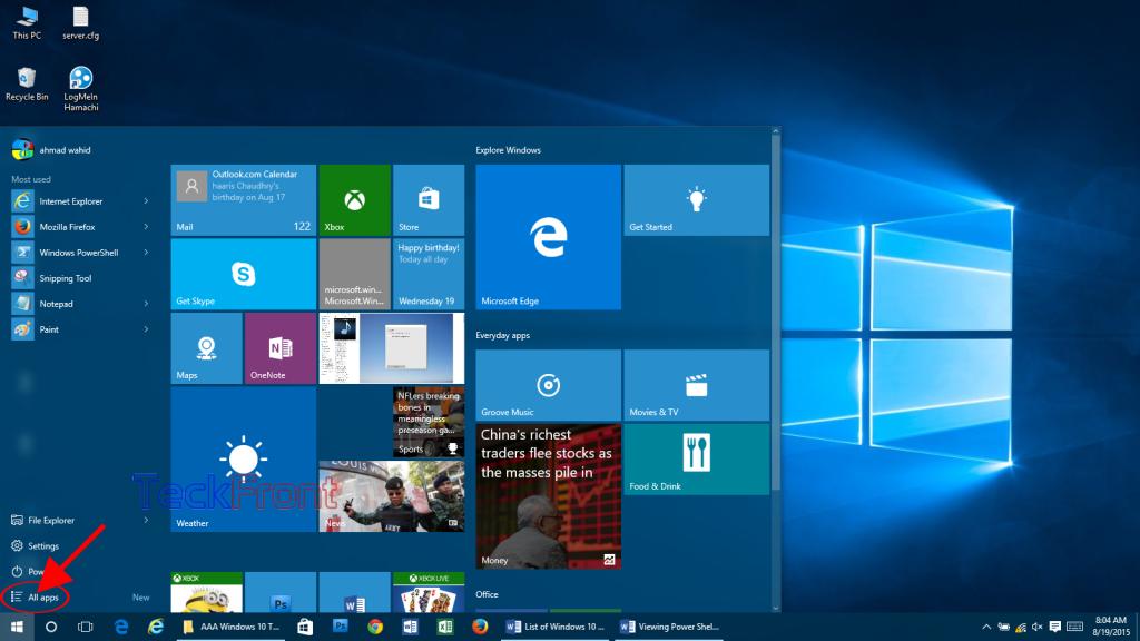 Windows10AllApps2