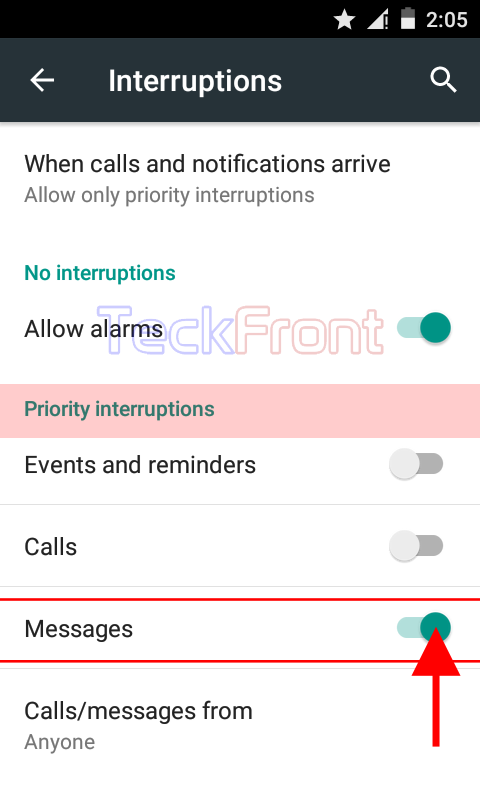 AndroidInterruptionSettingPriority6