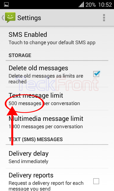 Android-Message-Limit-9